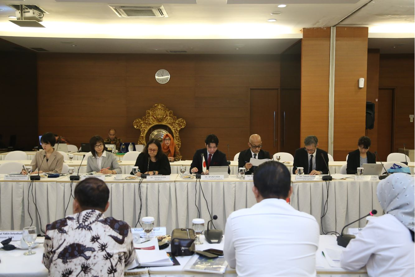 BPKN MENERIMA KUNJUNGAN CONSUMER AFFAIRS AGENCY, GOVERNMENT OF JAPAN