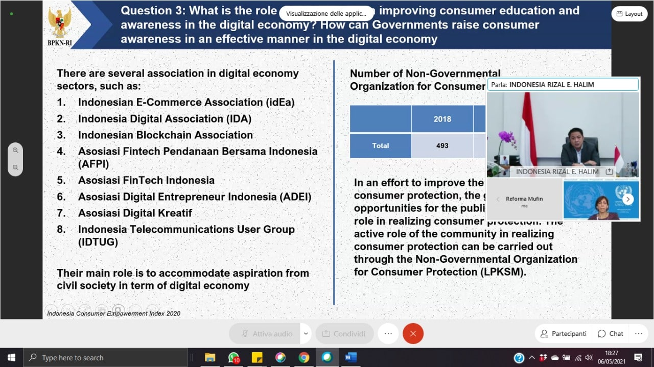 Consumers' Awareness, Protection And Blockchain For Traceability In The Digital Economy